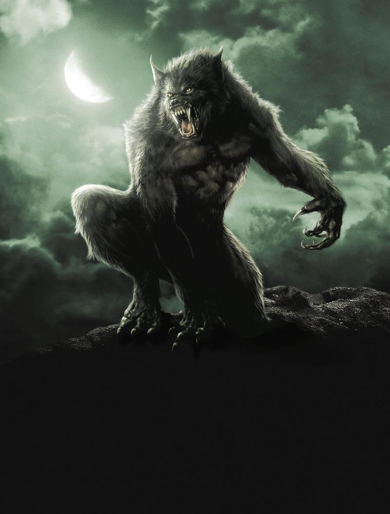3d warewolf three way fucked scene