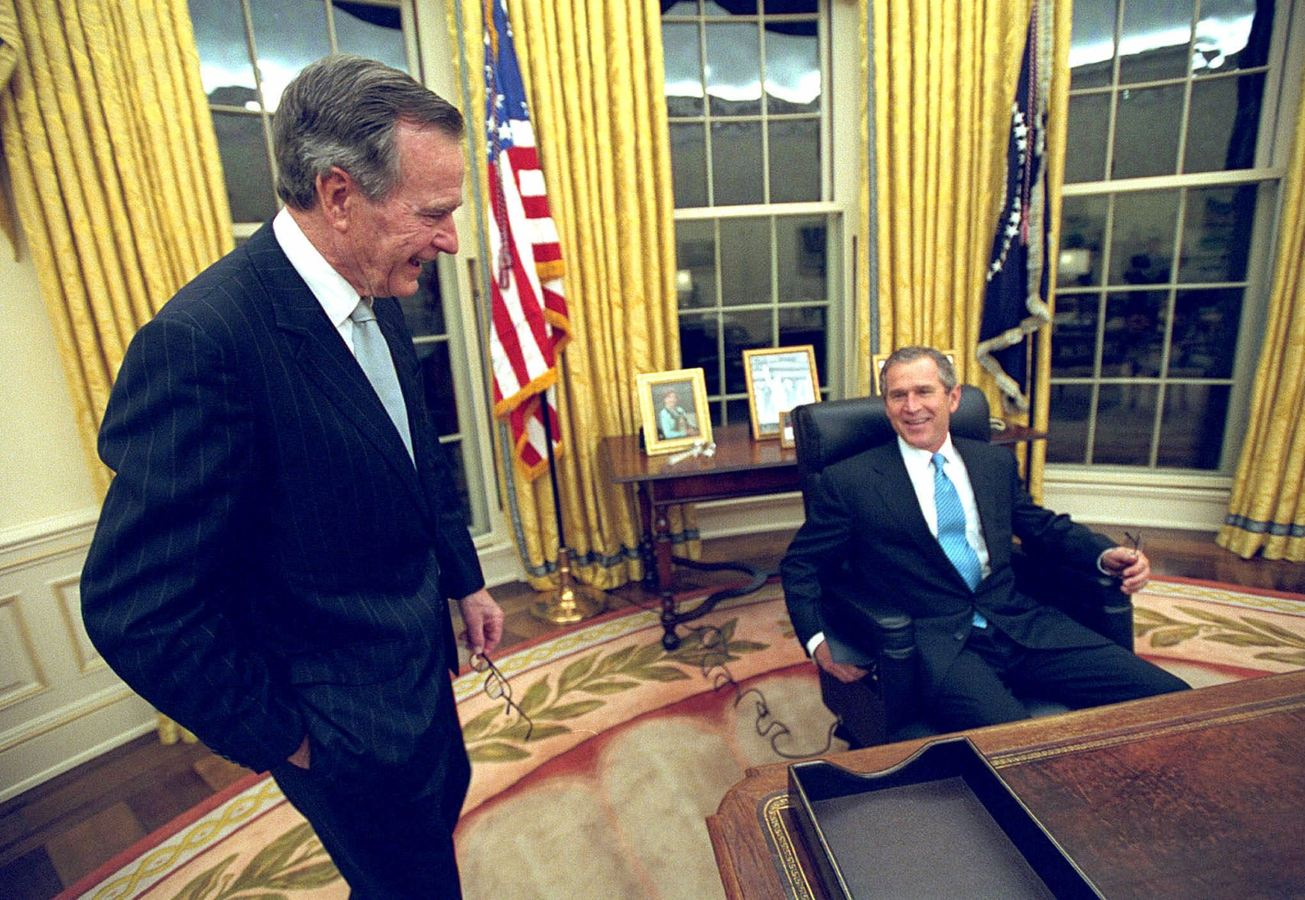 an overview of the presidential campaign of george bush junior in 2000