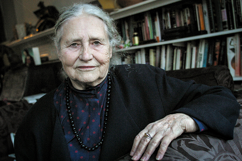 research paper on doris lessing