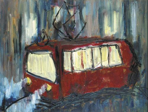 Конкурс заблудившийся трамвай 2017