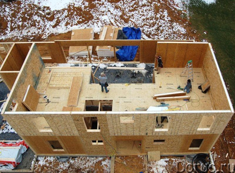 Технология постройки дома из сип панелей
