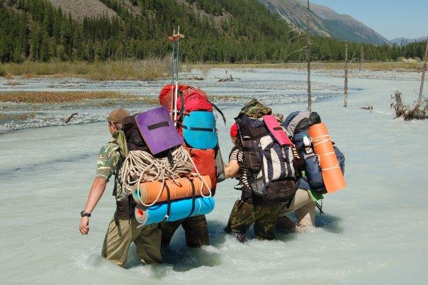 рыбалка в пешем походе